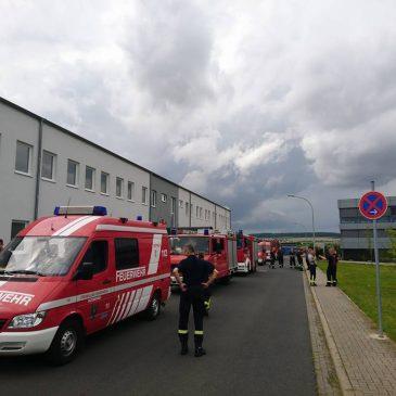 Katastrophenschutzübung in Echzell