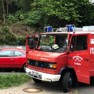 Mülltonnenbrand in Lindheim