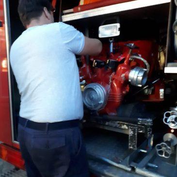 Jährliche Unterweisung der Atemschutzgeräteträger & Ausbildung an der TS