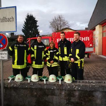Absicherung der St. Martinsumzüge in Lindheim