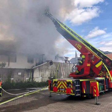 Wohnhausbrand in Altenstadt