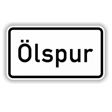 Ölspur in Altenstadt
