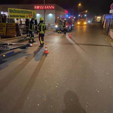 Ausgelaufenes Öl in Lindheim