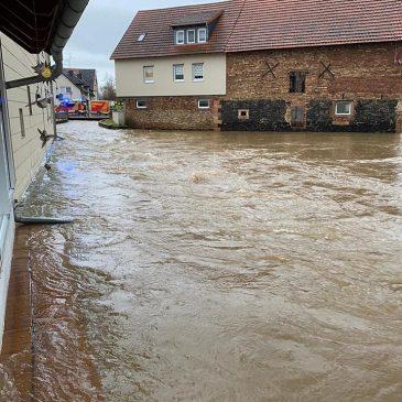Kleiner Ablaufbericht zum Hochwasser 2021