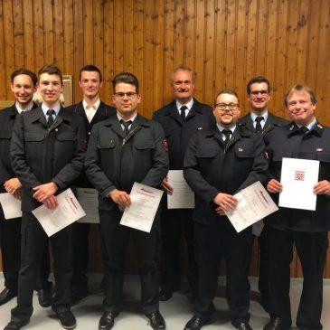 Jahreshauptversammlung der Wehren der Gemeinde Altenstadt