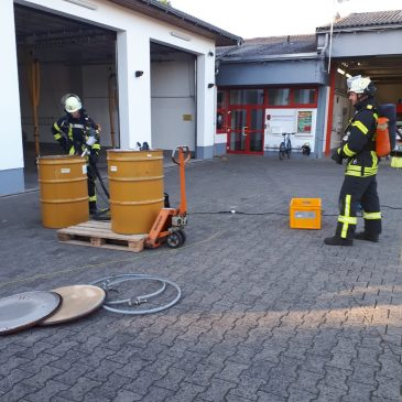 Gefahrgutzugübung der Gemeinde Altenstadt