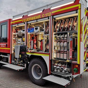 Fahrzeugkunde des LF10 KatS aus Oberau