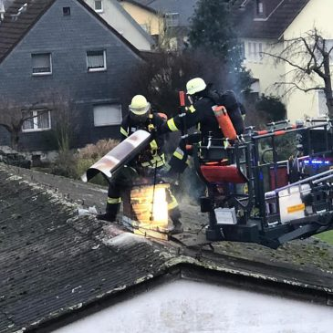 Kaminbrand in Lindheim
