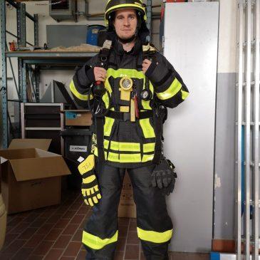 Neue Schutzkleidung für die Einsatzkräfte