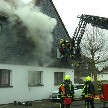 Wohnungsbrand in Altenstadt