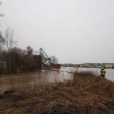 Hochwasser Einsatz 3 in Enzheim