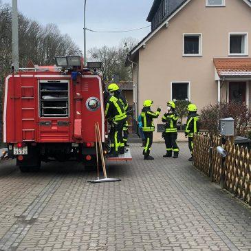 Hochwasser Einsatz 5 in Lindheim